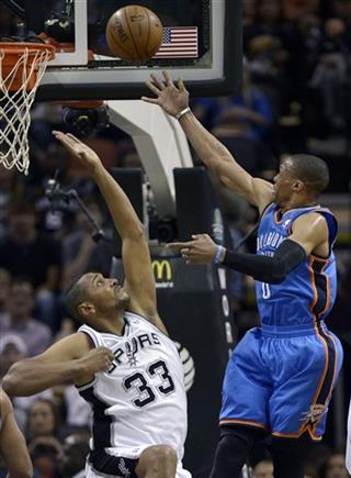 Boris Diaw, Russell Westbrook