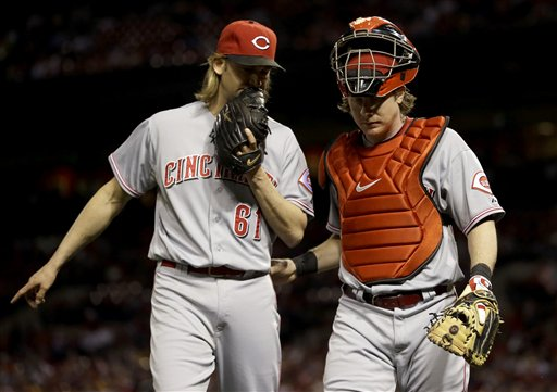 Bronson Arroyo, Ryan Hanigan