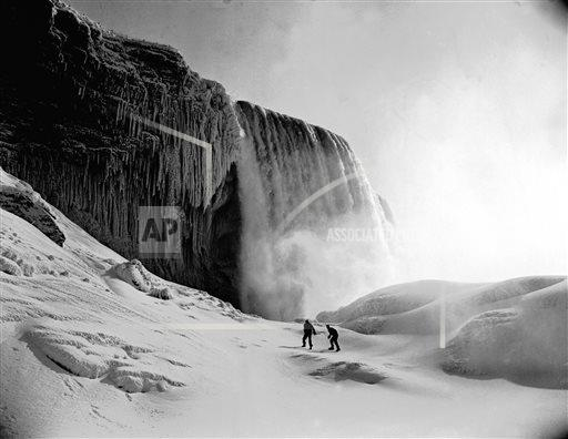 AP Explains Frozen Niagara Falls