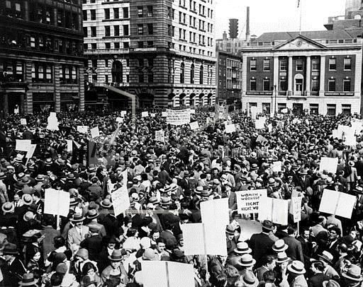 Associated Press Domestic News New York United States COMMUNISTS RALLY UNION SQAURE