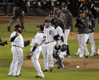 ALCS Yankees Tigers Baseball