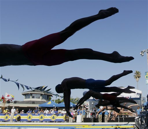 Santa Clara Grand Prix Swimming