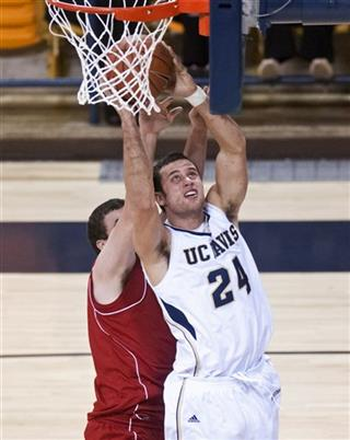 Nicholls St UC Davis Basketball