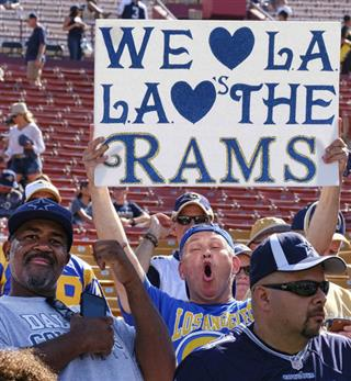 Rams Return Football