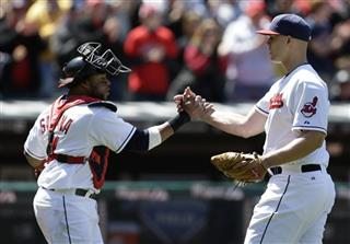 Justin Masterson, Carlos Santana