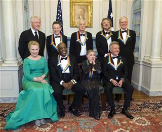 Bill Clinton, Hillary Rodham Clinton, John Paul Johns, Buddy Guy, Jimmy Page, Natalia Makarova, Robert Plant, Dustin Hoffman David Letterman.