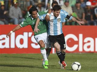 Lionel Messi, Marvin Bejarano