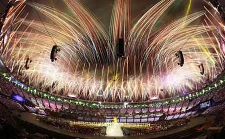 APTOPIX London Olympics Closing Ceremony