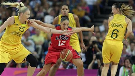 Diana Taurasi, Lauren Jackson