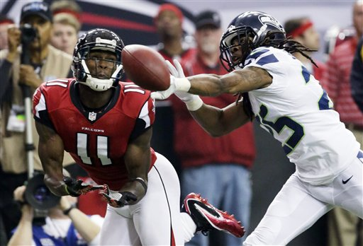 Julio Jones, Richard Sherman