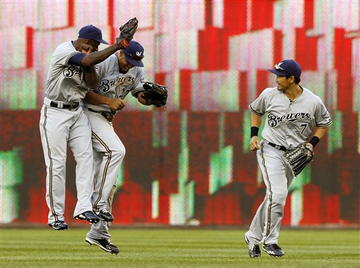 Nyjer Morgan, Carlos Gomez, Norichika Aoki