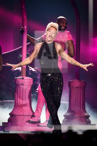 Pink Performs in Toronto, Canada - 18 Nov 2019