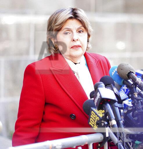 Gloria Allred at the trial of Harvey Weinstein - 2/21/20