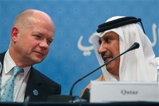 Hamad bin Jassim al-Thani, William Hague