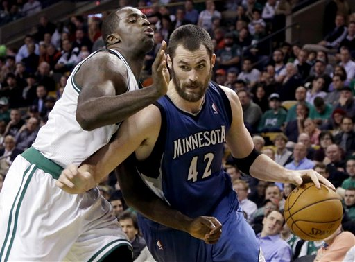 Kevin Love, Brandon Bass