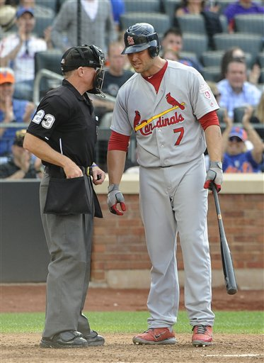 Matt Holliday, Lance Barksdale