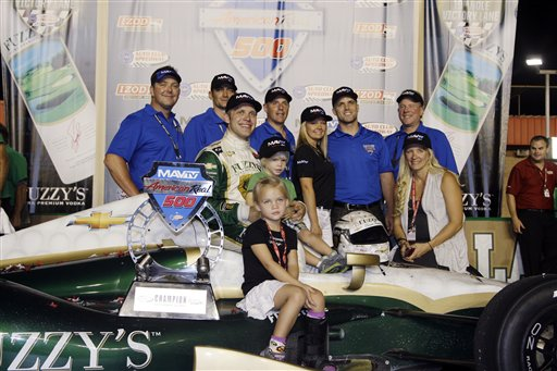 Ed Carpenter, Mackenna Carpenter, Ryder Carpenter, Heather Carpenter