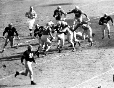 All-Time AP Poll 1930s-40s Football Football