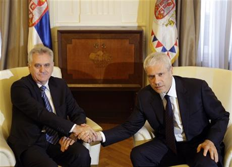 Tomislav Nikolic, Boris Tadic