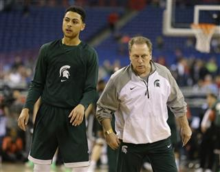 NCAA Michigan St Final Four Basketball