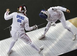 London Olympics Modern Pentathlon Women
