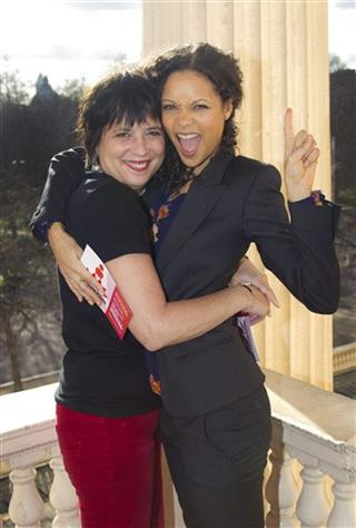 Thandie Newton, Eve Ensler