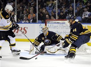 Shawn Thornton , Ryan Miller , Andrej Sekera
