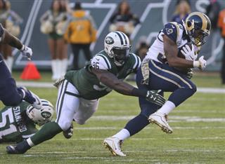 Jets Wilkersons Ankle Football