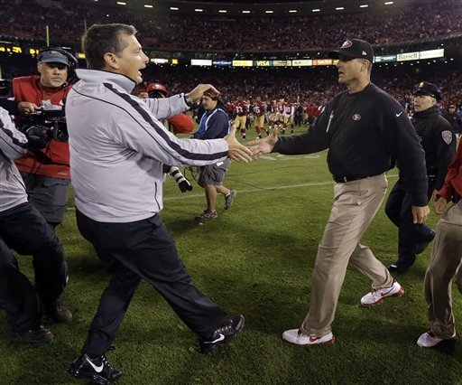 Jim Schwartz, Jim Harbaugh