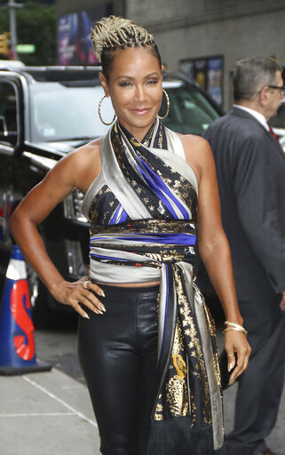 Jada Pinkett Smith at The Late Show With Stephen Colbert