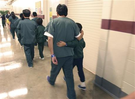 AP A TX USA Family Detention Center
