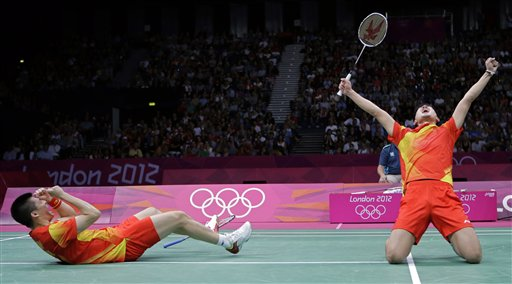 APTOPIX London Olympics Badminton Men