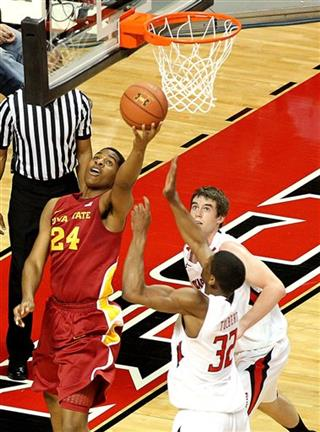 Iowa State Texas Tech Basketball