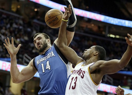 Nikola Pekovic Tristan Thompson
