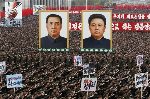 North Korea Staged In Pyongyang