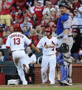 Matt Carpenter, Yadier Molina, John Buck