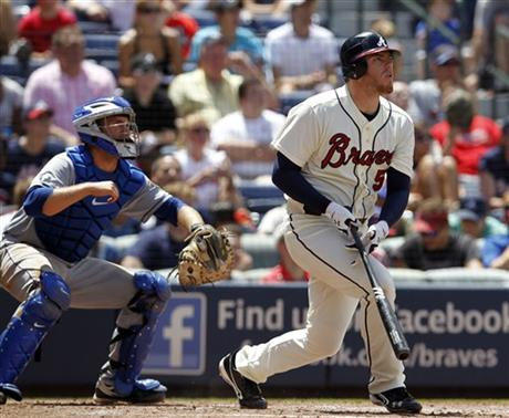 Freddie Freeman, Josh Thole (30)