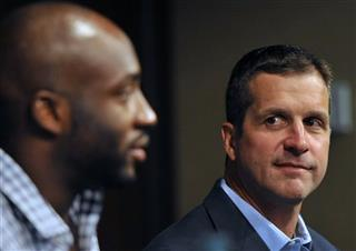 Elvis Dumervil, John Harbaugh