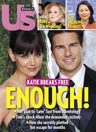 Cruise-Holmes Divorce Tabloids