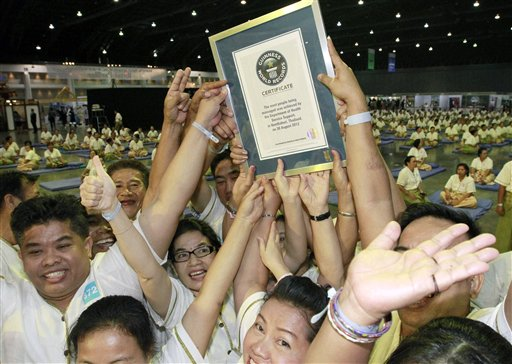 Thailand World Record Massage