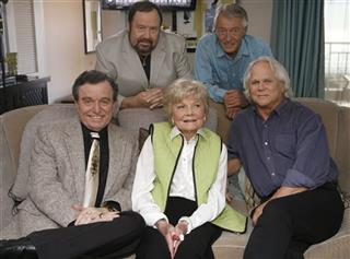 Jerry Mathers;Barbara Billingsley; Tony Dow;Frank Bank;Ken Osmond