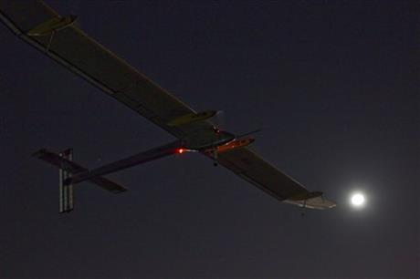 Spain Solar Plane