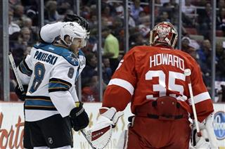Jimmy Howard, Joe Pavelski