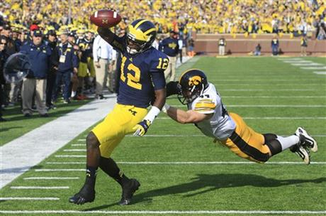 Devin Gardner, James Morris