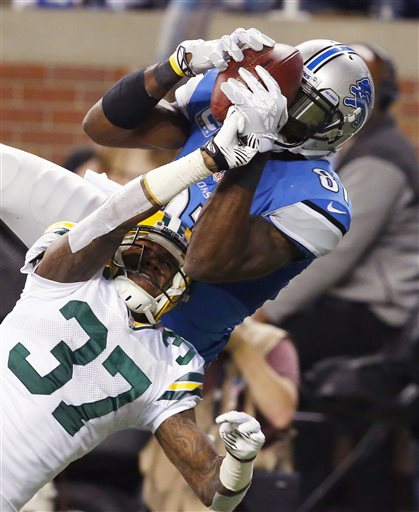 Calvin Johnson, Sam Shields
