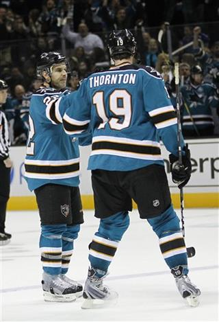 Dan Boyle, Joe Thornton
