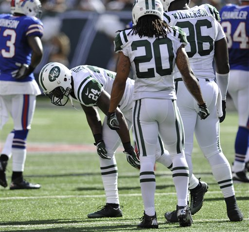 Jets Revis Football