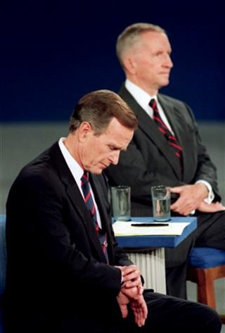 George H.W. Bush, Ross Perot