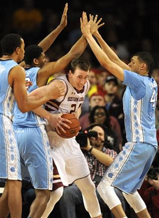 North Carolina Boston College Basketball
