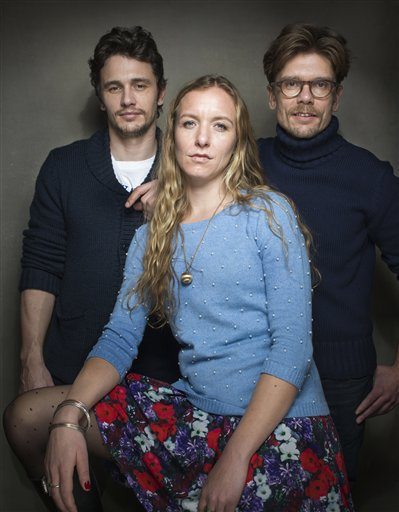 James Franco, Christina Voros, Travis Mathews
